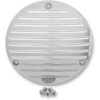プロワン ダービーカバー Ball-milled クローム 70-99 ビッグツイン DS-375745