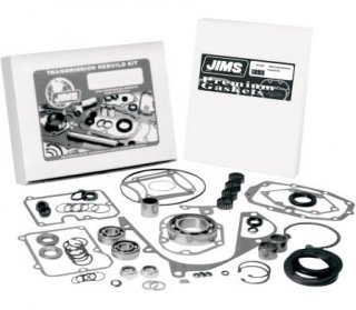ジムズ 5-SPEED トランスミッション リビルトキット For 99-06 ビッグツイン 1104-0004
