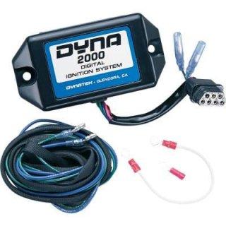 DYNA 2000-HDE イグニッションモジュール 91-95 シングル/デュアル 7PIN 2101-0043