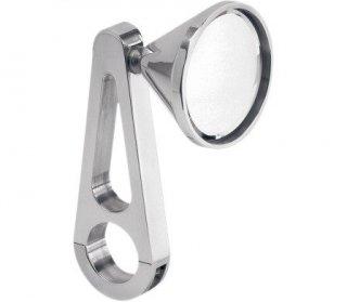 ジェイブレーキ ビレット クランプオン ミラー ポリッシュ 1.25インチハンドル用 0640-0319