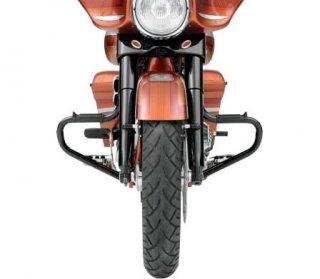 リンビー フロントマルチバー グロスブラック 97-20 FLHT, FLHR 1624-0170