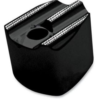 コビントン イグニッション スイッチカバー FINNED ブラックダイアモンド 07-13 FLHT/FLTR 2106-0118
