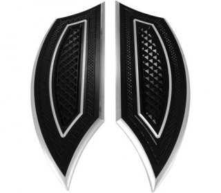 EDDIE TROTTAデザイン フロアボード リバースカット ドライバー用 ブラック 84-19ツーリング 1621-0201