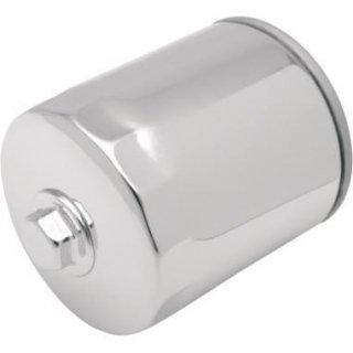ドラッグ製 スピンオン オイルフィルター ナット付き クローム ミルウォーキーエイトとツインカム用 0712-0011