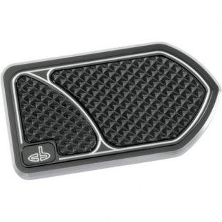 カールブローハード ブレーキペダルカバー ブラック 84-16 ツーリング 1610-0194