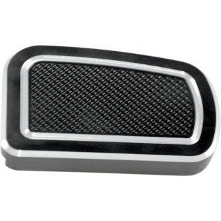 EDDIE TROTTAデザイン ブレーキペダルカバー ブラック 02-17ツーリング 1610-0235