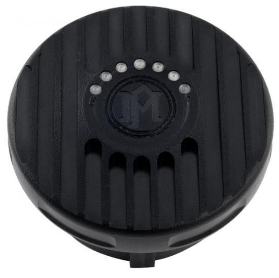 パフォーマンスマシン Grill LED付 ダミーガスキャップ ブラックOPS 0210-2025GRL-SMB