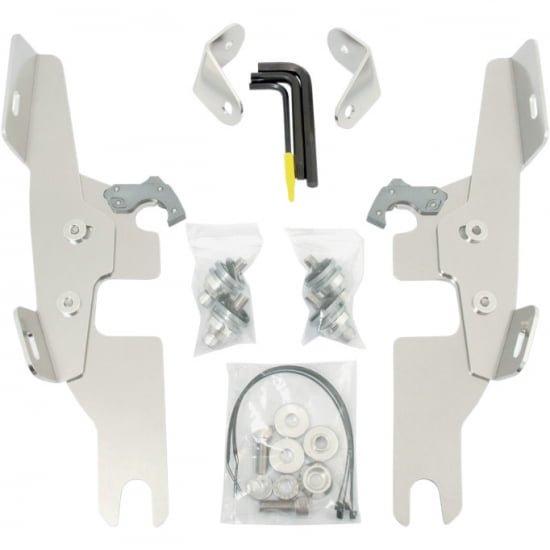 FATS/SLIM/バッドウイング用 トリガーロックマウントハードウェア ポリッシュ 12-16 FLD 2320-0113
