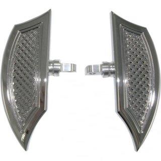 EDDIE TROTTAデザイン リバースカット ミニフロアボード オス型マウント クローム 1621-0504