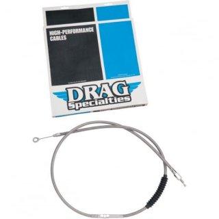 DRAG クラッチケーブル H,E ステンメッシュ 69.81インチ 87-94 FXR 0652-1447
