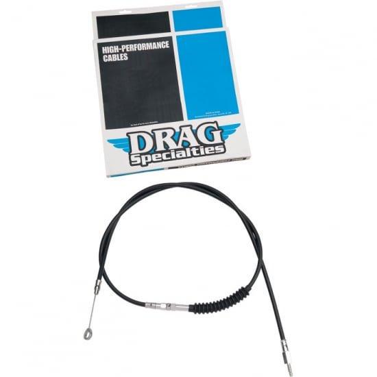 DRAG クラッチケーブル H,E ブラック 52.75インチ 86-03スポーツスター 0652-1390