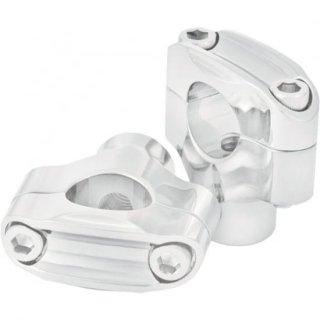 ローランドサンズ ノスタルジア 2ボルト ライザー クローム 1インチ径ハンドル用 0208-2049-CH