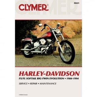 クライマー リペアマニュアル 84-99 FX/FL, FXST/FLST M421