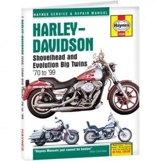 Haynes リペアマニュアル 70-99 ビッグツイン用 4201-0072