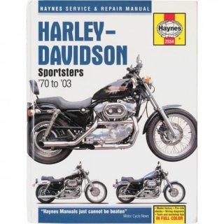 Haynes リペアマニュアル 70-10 スポーツスター用 4201-0038