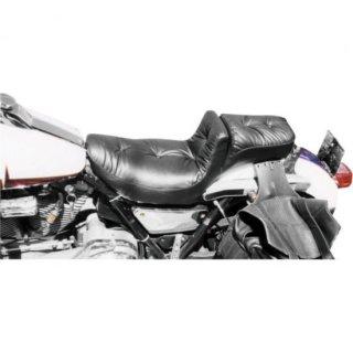 マスタング REGAL DUKE PILLOWシート ブラック 84-94 FXR DS-900385
