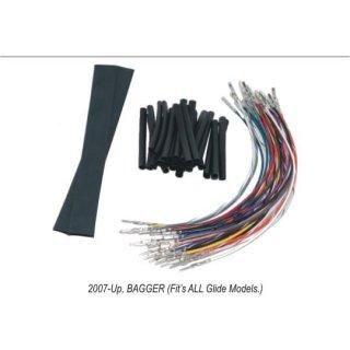 NAMZ ハンドルスイッチ配線延長キット +15インチ 07-13ツーリング 2120-0224