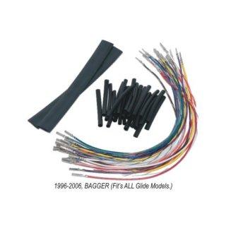 NAMZ ハンドルスイッチ配線延長キット +8インチ 96-06ツーリング 2120-0226
