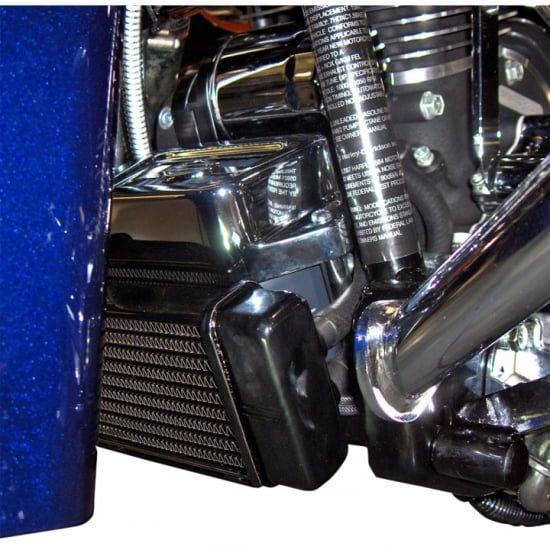 ジャグ ローマウント 10段オイルクーラー ブラック 84-08 ツーリング 0713-0115