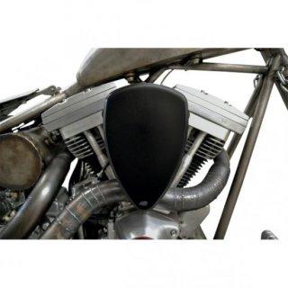 バロン BIG AIR KIT エアクリーナー スムース ブラック 99-17ビッグツイン 1010-1315