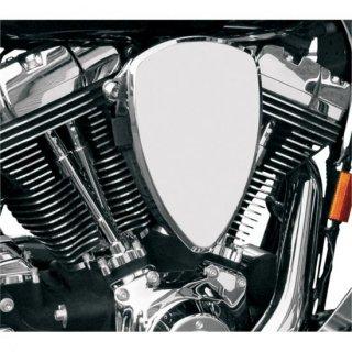 バロン BIG AIR KIT エアクリーナー スムース クローム 08-17ツインカムの電子スロットルモデル 1010-0482