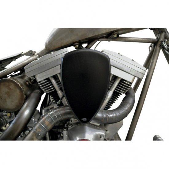 バロン BIG AIR KIT エアクリーナー スムース ブラック 08-17ツインカムの電子スロットルモデル 1010-1316