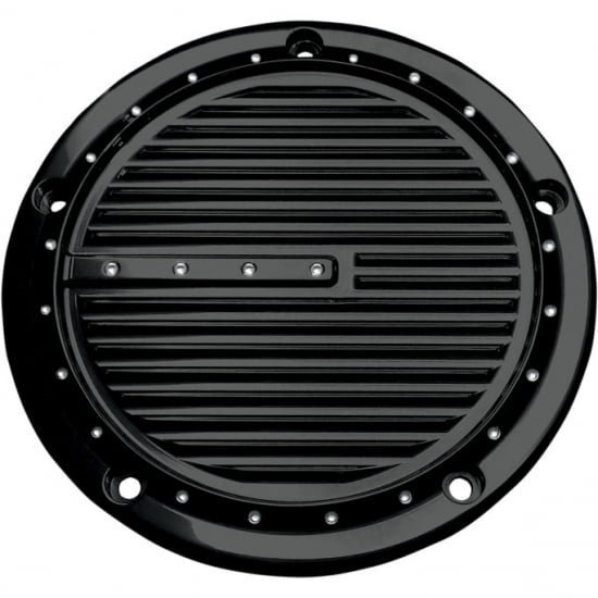 コビントン ダービーカバー DIMPLED グロスブラック 99-17 ツインカム/2018ソフテイル 1107-0311