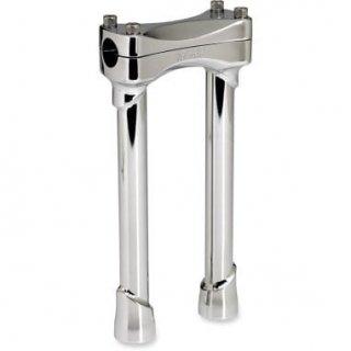 ビルツウェル トラッカーマッドロック ライザー ストレート 10インチライズ クローム 1インチ径ハンドル用 0602-0663