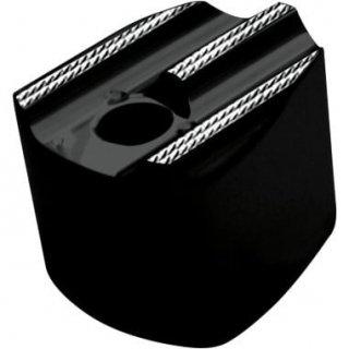 コビントン イグニッション スイッチカバー FINNED ブラックダイアモンド 93-06 FLT 2106-0117