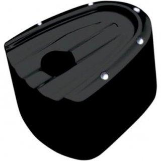コビントン イグニッション スイッチカバー DIMPLED ブラック 93-06 FLT 2106-0182