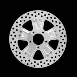 パフォーマンスマシン Shock リアブレーキディスク 右用 11.5インチ径 0133-1523SHOS