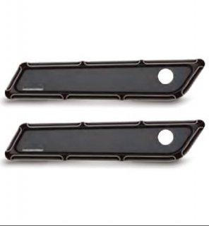 アレンネス NESS-TECH サドルバッグ ヒンジ カバー Beveled ブラック 2014-20 ツーリング 3501-0897