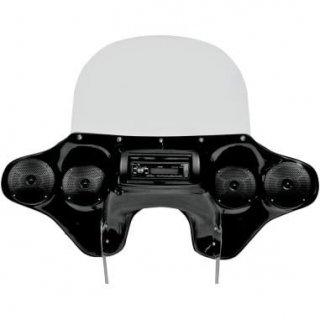 Hoppe QUADZILLA フェアリング ステレオレシーバー 12-16 FLD スイッチバック 2330-0113