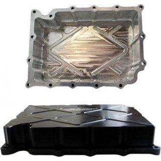 Trask ビレットオイルパン ブラック 02-17 V-ROD 1105-0102