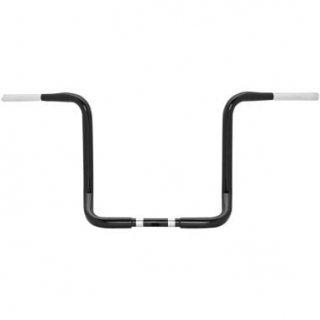 バーリー 1.25インチ バガーエイプ ハンドル 13インチ ブラック 2014-20 FLHT/FLHX 0601-3009
