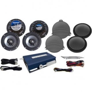 HOGTUNES 6.5インチ アンプ&スピーカーセット ウルトラ用 2014-19FLHTCU/FLHTK 4405-0353
