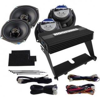 HOGTUNES 5.25インチ アンプ&スピーカーセット ウルトラ用 2000-13FLHTCU/FLHTK 4405-0339