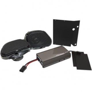 HOGTUNES 225WATT アンプ&フロントスピーカーキット 98-13 FLTR/X ロードグライド 4405-0495