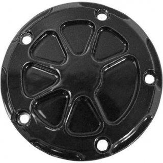ロスアンジェルスチョッパー FUSION ポイントカバー ブラックパウダーコート 1999-2017 ツインカム 0940-1393