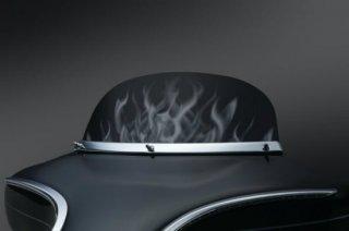 クリアキン Flame ウィンドシールド 7インチ 96-13ツーリング 1272