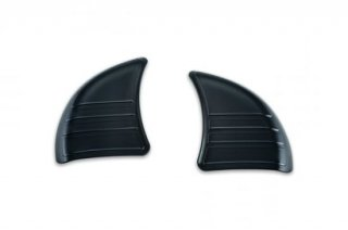 クリアキン トリライン インナー フェアリングカバープレート グロスブラック 2014-19 FLHT/FLHX 6979