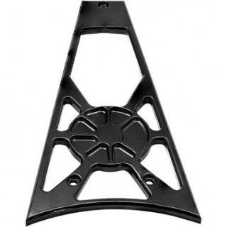 ロスアンジェルスチョッパー FUSION フレイムグリル Decadent ブラックパウダー 09-13 ツーリング 0504-0277