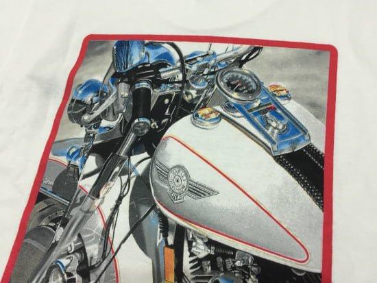 ハーレー純正 Tシャツ メンズ Sサイズ 白 エボ FATBOY ファットボーイ 94SPECIAL