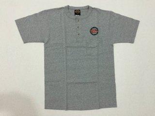 ハーレー純正 Tシャツ メンズ Mサイズ グレー タンクエンブレム刺繍