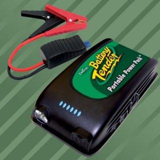 A バッテリーテンダー リチウム ポータブル パワーパック ジャンプスタートブースター 030-0001-WH