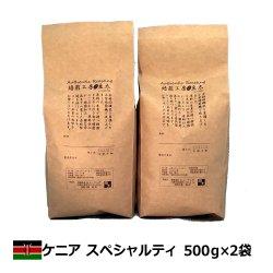ケニアAA スペシャルティ<500g×2袋>