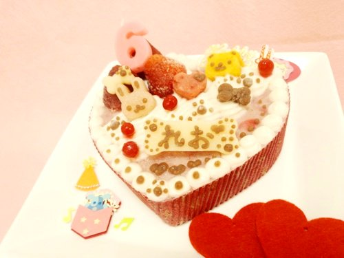【わんわんの日セール対象商品】◆ハートのプリティーprincess【馬肉】◆犬用ケーキ,ペット用ケーキ,犬用バースデーケーキ,無…
