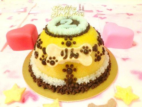 【ケーキはついていません☆彡】◆お名前入りクッキーボーン◆愛犬用ケーキ,愛猫用ケーキ,ペット用ケーキ