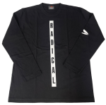 <img class='new_mark_img1' src='https://img.shop-pro.jp/img/new/icons6.gif' style='border:none;display:inline;margin:0px;padding:0px;width:auto;' />RADICALロングスリーブTシャツ<ブラック>