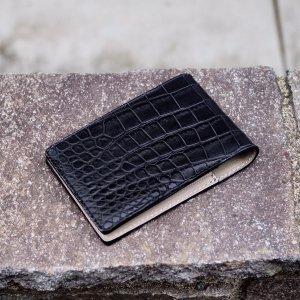 731f962fe3fc SOLDOUT; 【7SENSE】クロコダイル・ポロサス・パスケース&名刺入れ(カードケース)